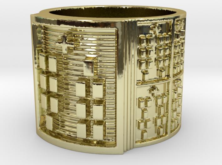OBARAKANA Ring Size 11-13 3d printed