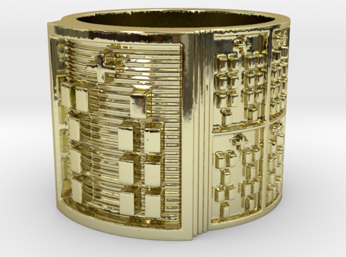 OBARASA Ring Size 11-13 3d printed