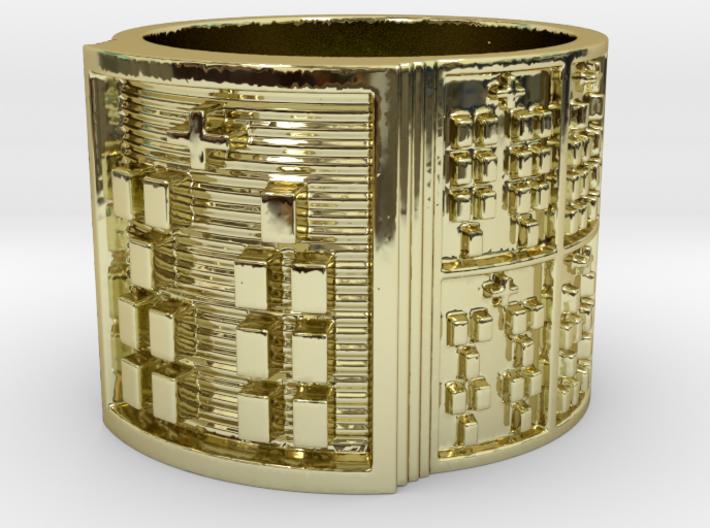OBARAKA Ring Size 14 3d printed