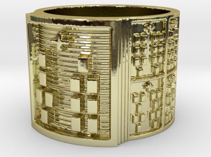 OBARAKETE Ring Size 13.5 3d printed