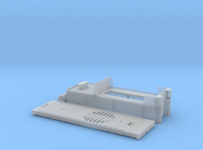 Tender Kit, D&RGW C-21 #360 Locomotive On3/On30 3d printed