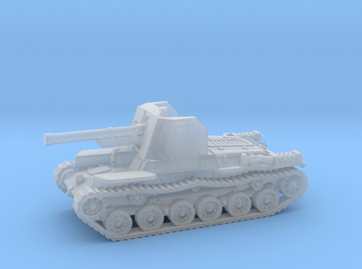 Ho Ni tank (Japan) 1/200 3d printed