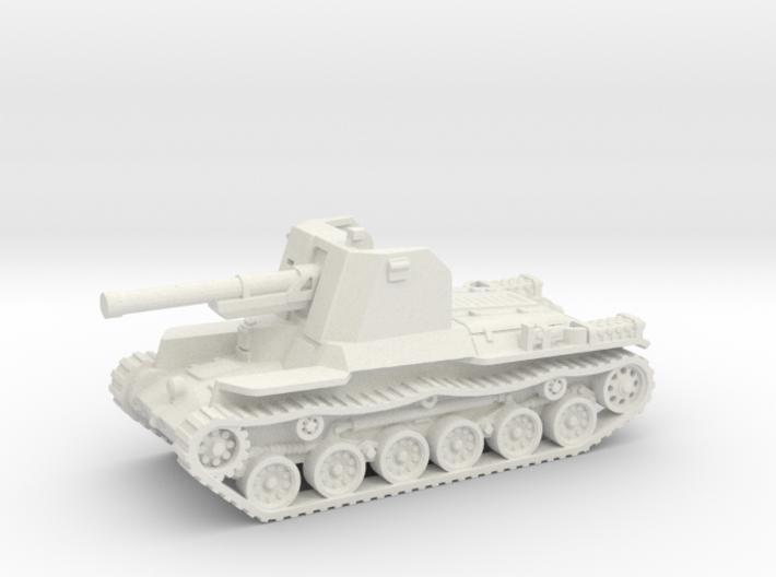 Ho Ni tank (Japan) 1/87 3d printed
