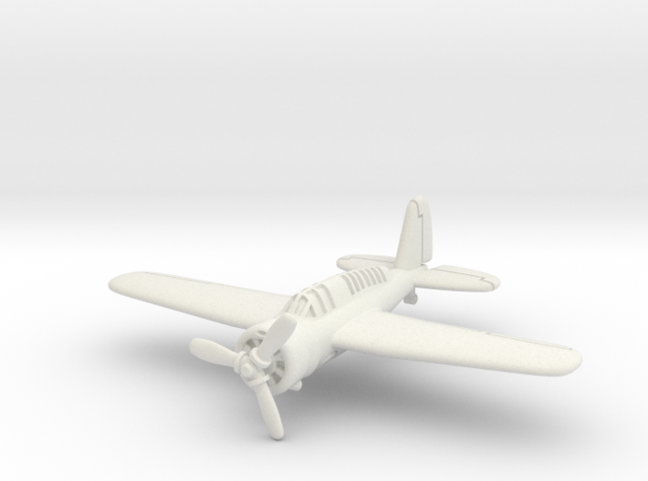 Brewster SBA scout bomber 1/200 3d printed