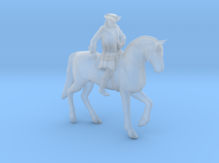 Paul Revere's Midnight Ride (S Scale) 3d printed