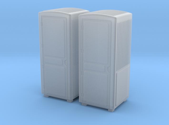TJ-H01135x2 - Toilettes de Chantier éch H0 3d printed