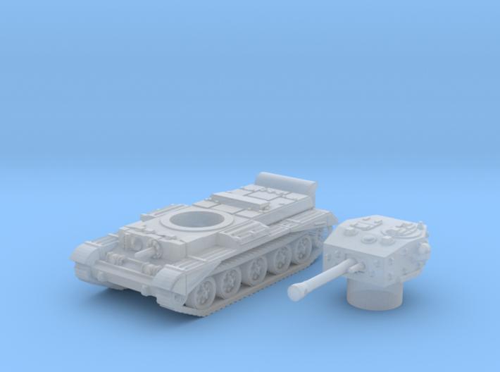 Cromwell IV Tank (British) 1/200 3d printed