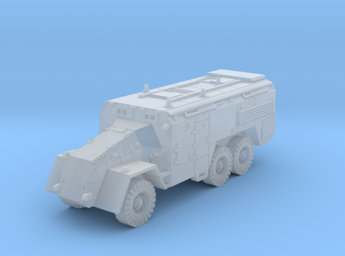 AEC Armoured Command Vehicle (British) 1/200 3d printed