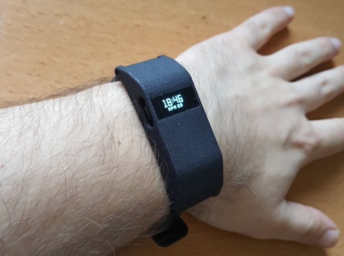 Fitbit Charge HR Shell 3d printed