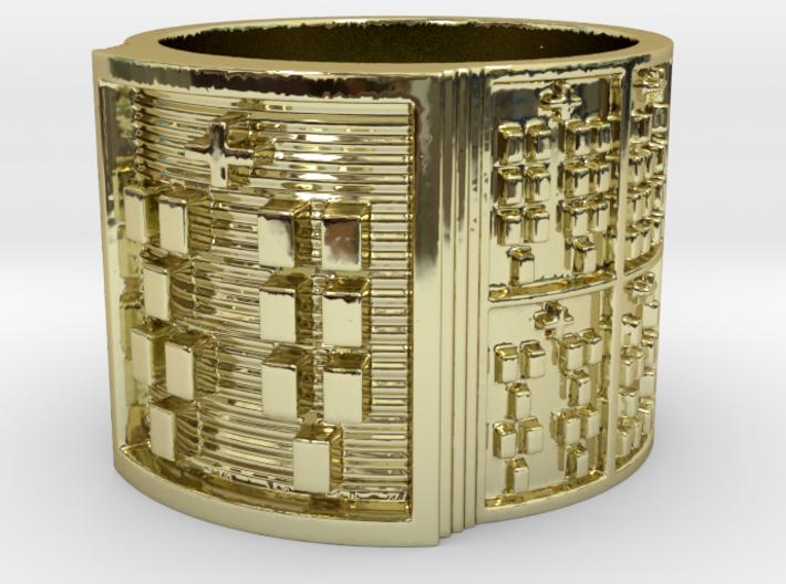 OKANAFUN Ring Size 14 3d printed