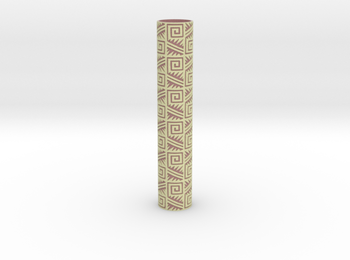 Rolling Pin Sleeve Maxico City 3d 3d printed