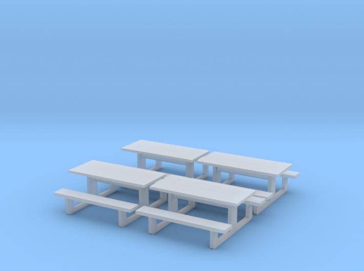 TJ-H01142x4 - Tables en béton 3d printed