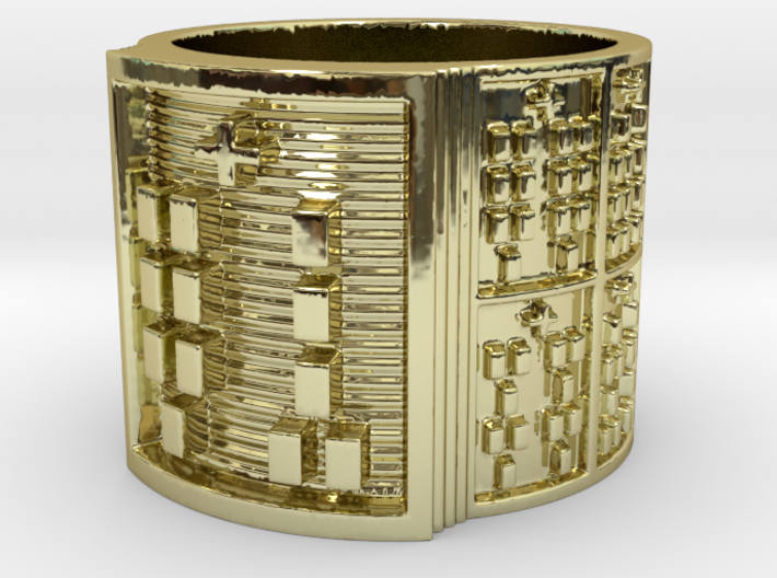 OGUNDAKANA Ring Size 11-13 3d printed