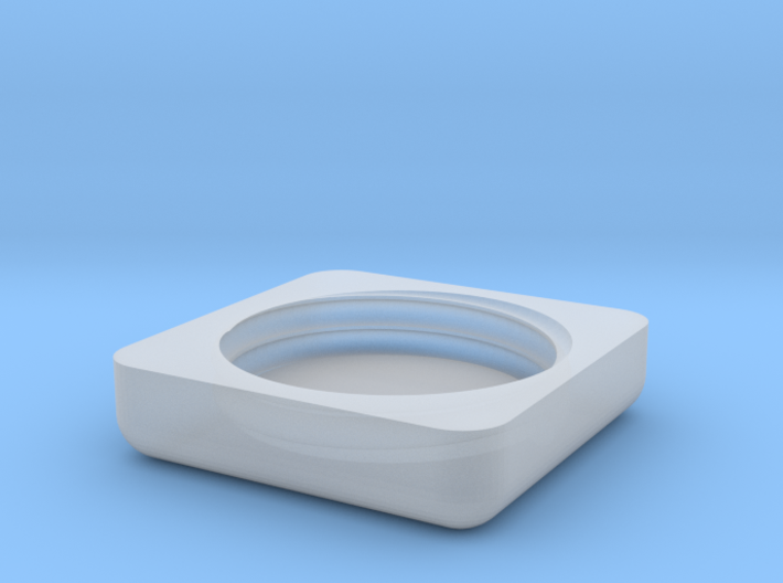 Palmbalm Ring Top 3d printed