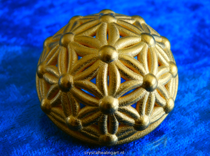 Flower Of Life Dome 3d printed