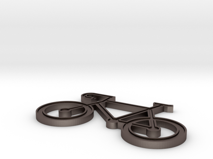 Bicycle Keychain 3d printed