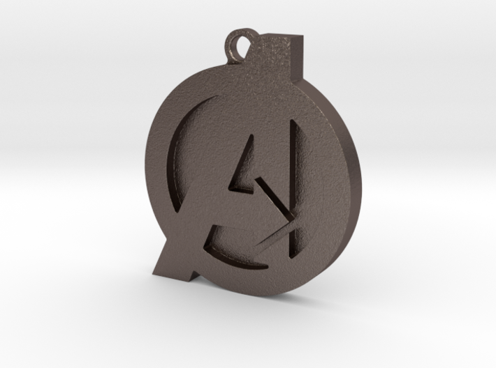 Avenger Keychain 3d printed