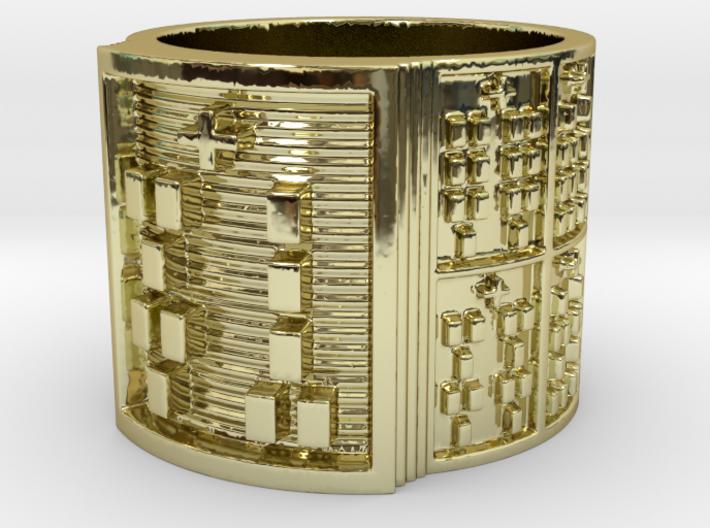 OGUNDAFUN Ring Size 11-13 3d printed