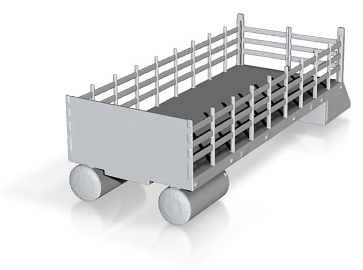 CSX, NS MOW Boom Truck Stake Bed (N) 3d printed