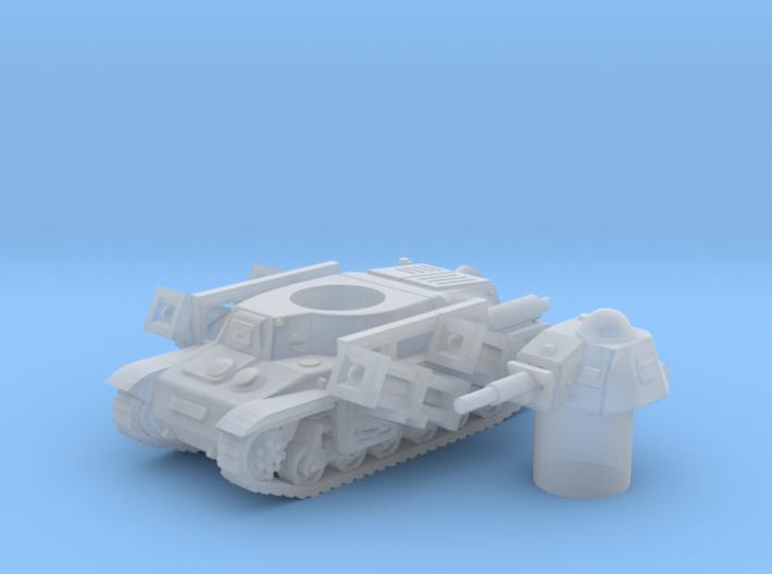 Hotchkiss tank-rockets (French) 1/200 3d printed
