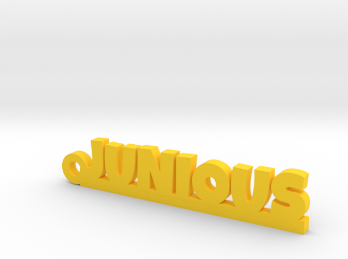 JUNIOUS Keychain Lucky 3d printed