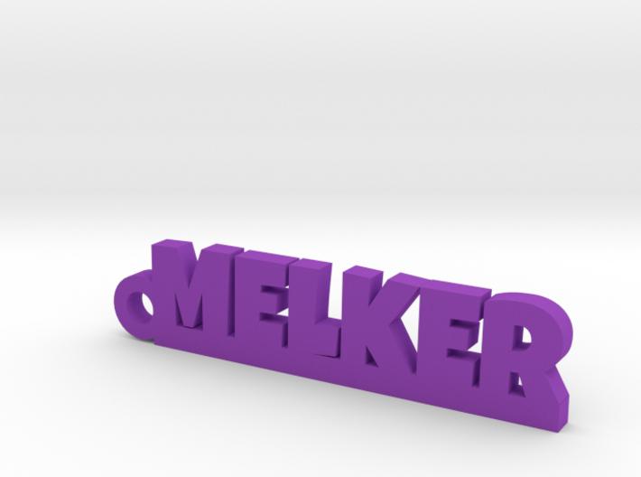 MELKER Keychain Lucky 3d printed