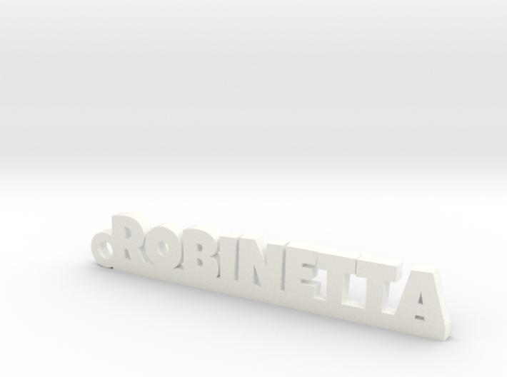 ROBINETTA Keychain Lucky 3d printed