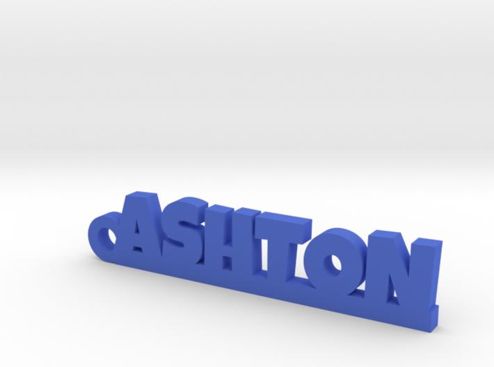 ASHTON Keychain Lucky 3d printed