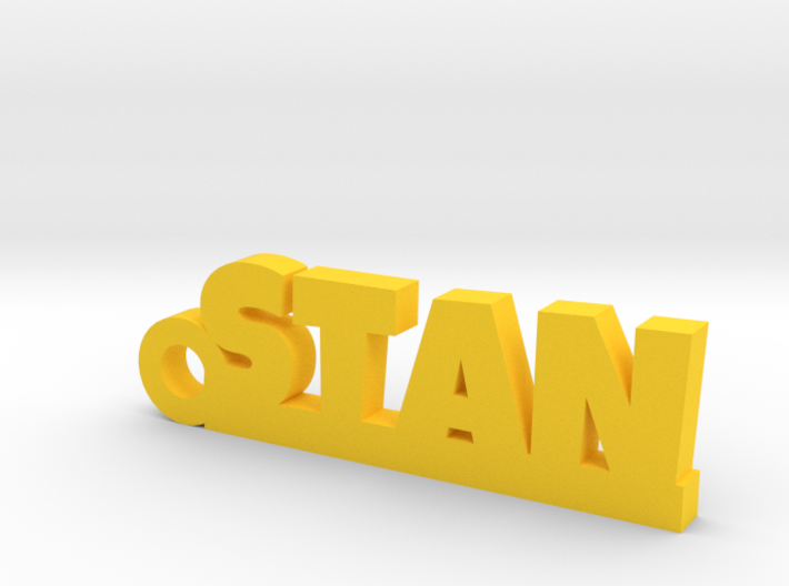 STAN Keychain Lucky 3d printed