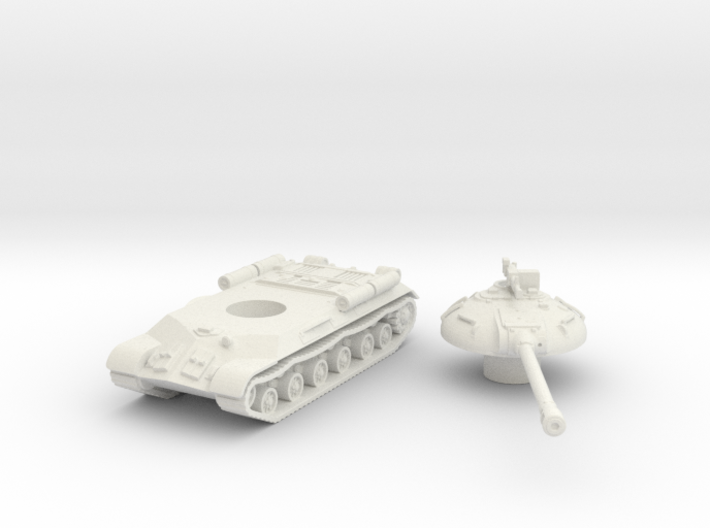 IS-3 Tank (Russian) 1/100 3d printed