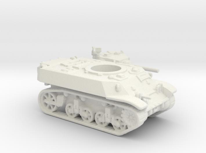 M3 Stuart tank (USA) 1/144 3d printed