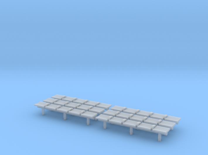 TJ-H04551x6 - bancs de quai 5 places 3d printed