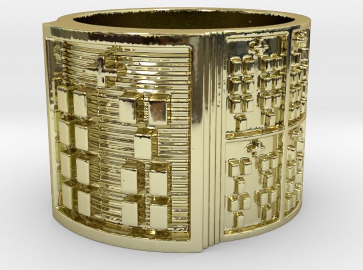IKAYEKUN Ring Size 14 3d printed