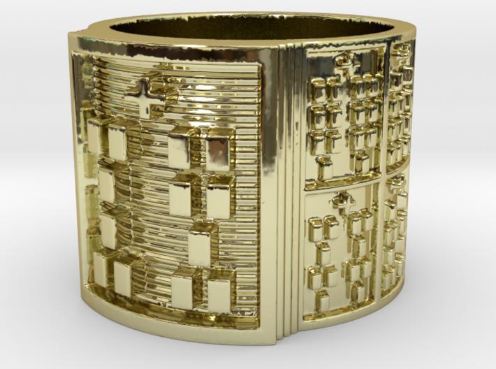 OTRUPONADAKINO Ring Size 11-13 3d printed