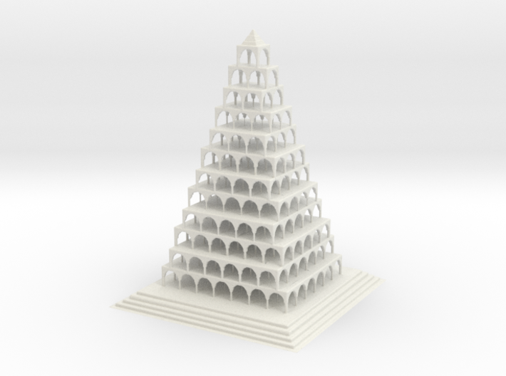 Arches 3d printed