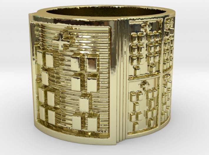 OTRUPONKA Ring Size 11-13 3d printed