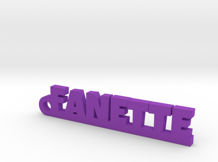 FANETTE Keychain Lucky 3d printed