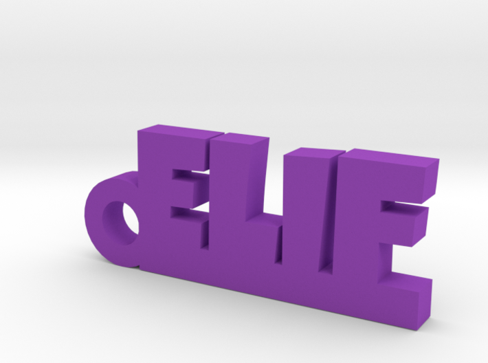 ELIF Keychain Lucky 3d printed