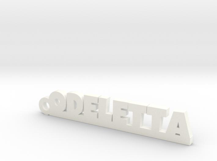 ODELETTA Keychain Lucky 3d printed