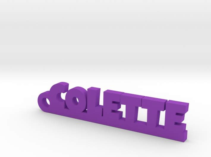 COLETTE Keychain Lucky 3d printed