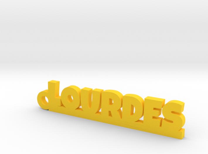 LOURDES Keychain Lucky 3d printed