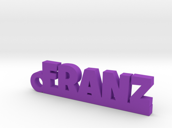 FRANZ Keychain Lucky 3d printed