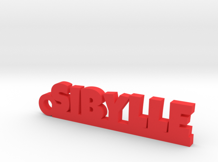 SIBYLLE Keychain Lucky 3d printed