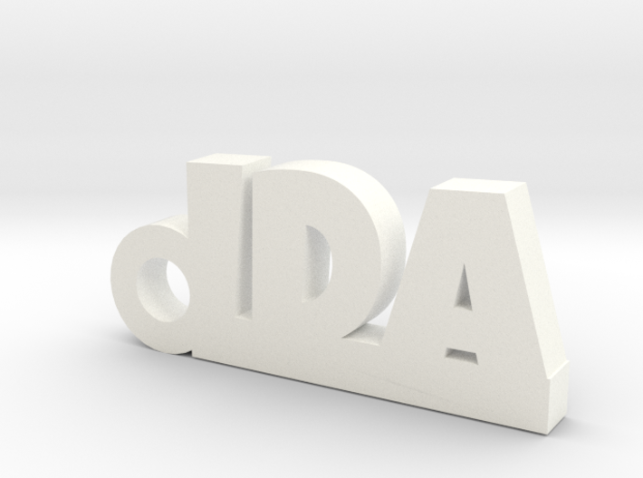 IDA Keychain Lucky 3d printed