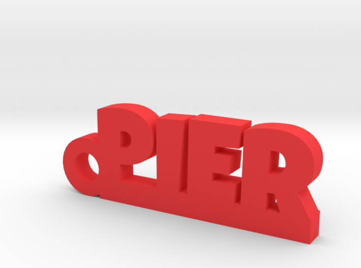 PIER Keychain Lucky 3d printed