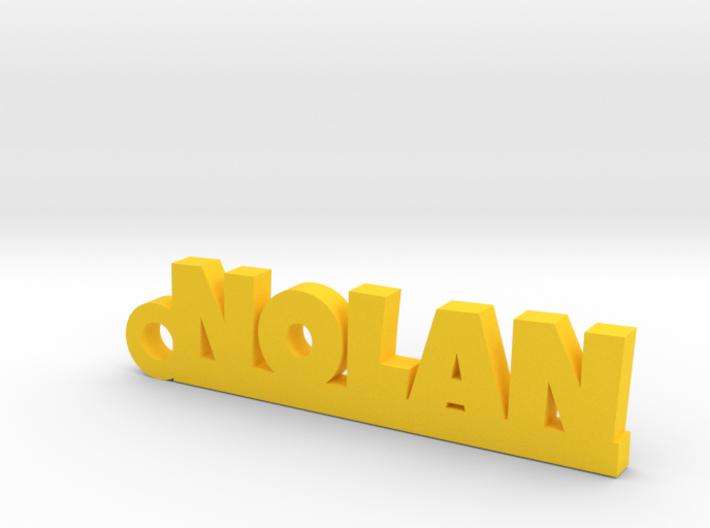NOLAN Keychain Lucky 3d printed