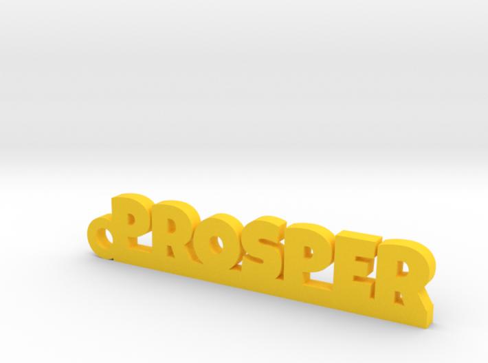 PROSPER Keychain Lucky 3d printed