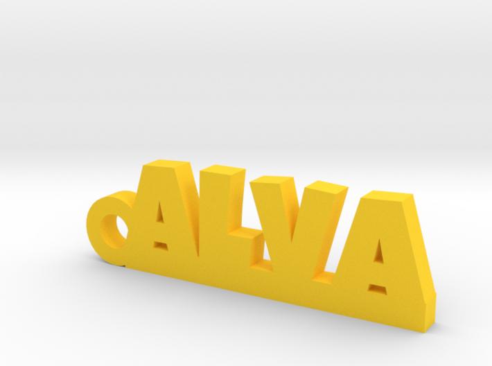 ALVA Keychain Lucky 3d printed