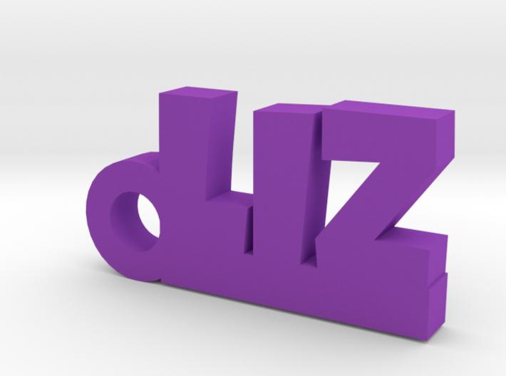 LIZ Keychain Lucky 3d printed