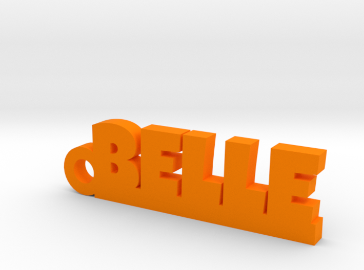 BELLE Keychain Lucky 3d printed